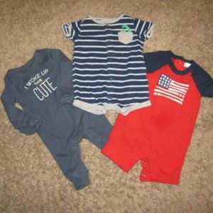 Bundle of 3 Newborn Outfits